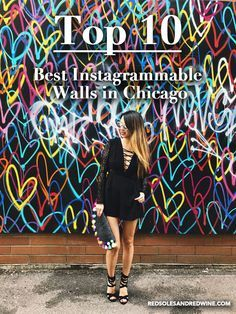 Best Instagram Walls in Chicago, Art Murals in Chicago, Best places to photograph in Chicago, Chicago Fashion Style