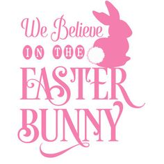 Silhouette Design Store: we believe in the easter bunny