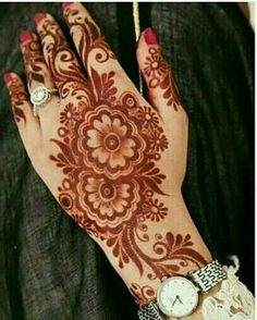 Henna Tattoo Designs Gallery - Wedding Henna Designs for Brides Images collection. this is new collection wedding henna tattoo designs for bride Dulhan Mehndi Designs, Mehandi Designs, Mehndi Designs 2018, Mehndi Designs For Girls, Mehndi Designs For Beginners, Mehndi Design Pictures, Unique Mehndi Designs, Beautiful Mehndi Design, Mehendi