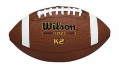 Wilson K-2 Pee Wee Composite Leather Game Football by K2. $24.86. Save 14%!