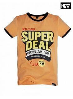 Deal-75 Shirt Guus abricot