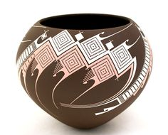 nicolas+quezada+pottery | eautiful light coffee colored olla by Jose Quezada one of the most ...