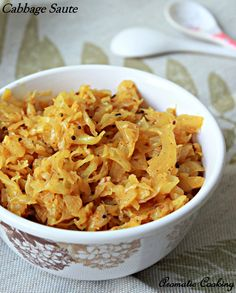 Aromatic Cooking: Cabbage Saute