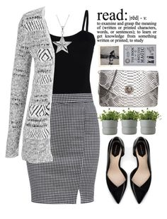 """""""read"""" by amilla-top ❤ liked on Polyvore featuring мода, Baguette....., maurices, Zara, Rig-Tig by Stelton, CO и True Rocks"""