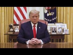 LIVE: PRESIDENT TRUMP FAREWELL ADDRESS TO THE NATION 1/19/21 - YouTube
