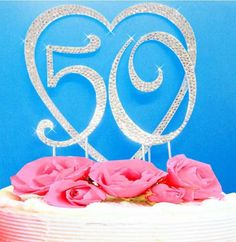 Best 50th Anniversary Cake Toppers