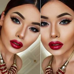 who can use the red lipstick-Important beauty tricks for every women – Just Trendy Girls