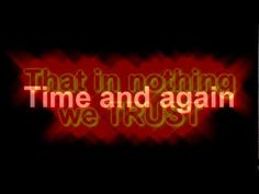 Megadeth - Trust (lyrics)