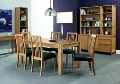 Studio Oak 4-6 Centre Extension Table & 4 Slatted Chairs which will give you a feeling of satisfaction like never before. Available in a perfect price. More details: http://solidwoodfurniture.co/product-details-oak-furnitures-4158--studio-oak-centre-extension-table-slatted-chairs.html