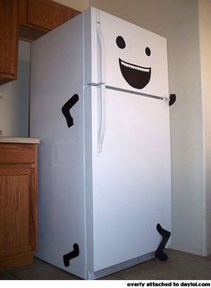 My fridge is running