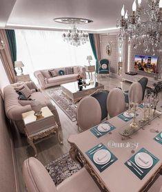 45 living room decor on a budget 4 Balkon – home accessories Living Room Decor On A Budget, Glam Living Room, Elegant Living Room, Home Decor Furniture, Living Room Furniture, Furniture Design, Dining Room Design, Luxury Living, Home Interior Design