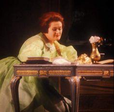Dame Joan Sutherland as Violetta in Verdi's opera La Traviata.