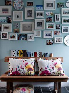 photo wall of dreams