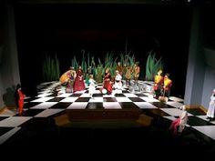 Alice in Wonderland set design: Janie Alexander.