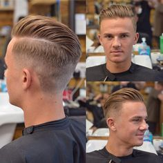 Popular Haircuts For Short Hair Men Cool Hairstyles For Men, Boy Hairstyles, Cool Haircuts, Haircuts For Men, Classic Mens Hairstyles, Hair And Beard Styles, Curly Hair Styles, Barber Haircuts, Hair Masque
