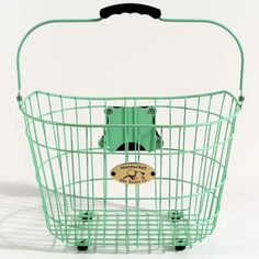 Surfside Wire Basket Green now featured on Fab.