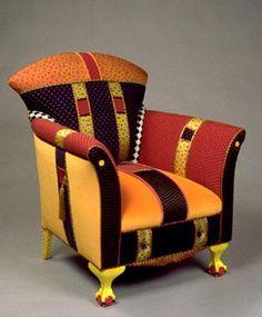 Upholstered art by Robert Harman.