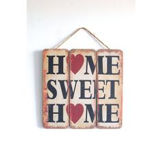 Home Sweet Home Home Decor Sign Rustic Vintage Look Home Sweet Home De ($25) ❤ liked on Polyvore featuring home, home decor, wall art, home & living, home décor, silver, wall décor, wall hangings, home sweet home wall art and home sweet home sign