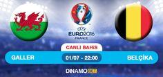 Turnuvanın sürpriz takımlarından Galler, Belçika karşısına çıkıyor. Karşılaşmayı Damir Skomina yönetecek. Sizde kazananlardan olmak istiyorsanız EN YÜKSEK ORANLAR ile DinamoBET 'te... https://www.dinamobet4.com/tr#/