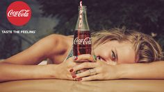 Here Are 25 Sweet, Simple Ads From Coca-Cola's Big New 'Taste the Feeling' Campaign Here Are 25 Sweet, Simple Ads From Coca-Cola's Big New 'Taste the Feeling'… - Fresh Drinks Coke Ad, Coca Cola Ad, Pepsi, Vintage Coca Cola, Stevia, Cocoa Cola, Guy Aroch, Kombucha, Beer Bottle