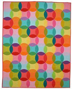 http://www.michaelmillerfabrics.com/inspiration/freequiltpatterns/over-the-rainbow-quilt-by-emily-herrick.html