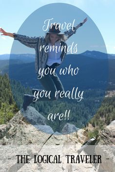 Travel Reminds You Who YOU REALLY are!! Feeling Sad, How Are You Feeling, You Really, Travel Quotes, How To Get, World, Movie Posters, Inspiration, Inspired