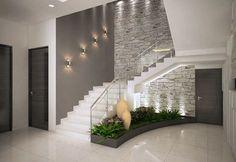 Inspire-se nestas fantásticas escadas para construir a sua!Corredores e halls de entrada por ACE INTERIORS Home Stairs Design, Design Your Home, Modern House Design, Modern Interior Design, Stair Design, Contemporary Interior, Scandinavian Interior, Scandinavian Style, Stylish Interior