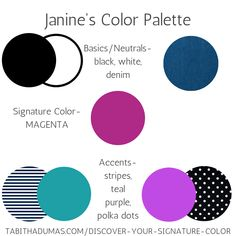 Discover Your Signature Color! Deep Winter Palette, Cool Winter Color Palette, Deep Winter Colors, Pink Color Schemes, Teal Colors, Color Combos, Purple Outfits, Colourful Outfits, Purple Teal