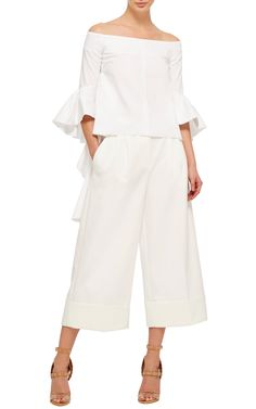 Delores Off The Shoulder Top by ELLERY Now Available on Moda Operandi