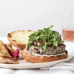 Tuna Nicoise Burgers