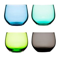 Glassware in fun colors! Get every color you want at Distinguished Glass Company, Austin, TX