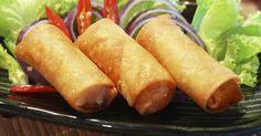 Recette de Nems chinois cuits au four. Facile et rapide à réaliser, goûteuse et diététique. Ingrédients, préparation et recettes associées.