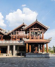 Tu Sac Khai Doan pagoda Daklak, Vietnam