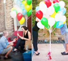 Why you NEED proposal pictures - Check out this sweet Up Proposal