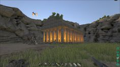 Ark Survival Evolved with Star — Something awesome one of the Tribes on the server...