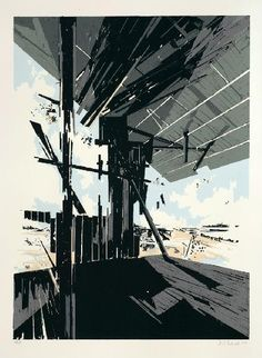 David Schnell, Screen Print