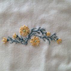 Detail of wool blanket.