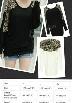 Leopard Batwing Top -Get it at www.facebook.com/anjboutique LIKE our page to keep up with our sales events!