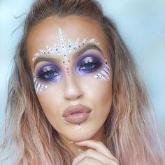 """2 Likes, 1 Comments - Best Festival Makeup! ✌️ (@festival_makeup) on Instagram: """"@keilidhmua gorgeous #festive #festival_makeup #festivalmakeup #ravebae #ravemakeup…"""""""