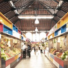 Proyecto de Remodelación del Mercado Municipal de Atarazanas / Aranguren  Gallegos Arquitectos #AVMdegilpazaryeri #Architecture