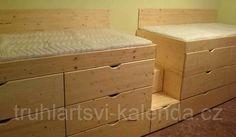 zvýšená postel