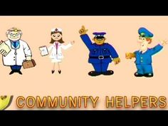 Play & Learn Community Helpers - Animated Series