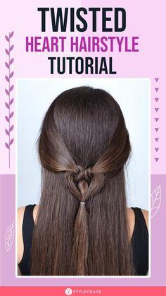 Vintage Hairstyles, Cute Hairstyles, Wedding Hairstyles, Hairdos, Hairstyle Ideas, Hair Ideas, Pin Up Hair, Hair Pins, Heart Hair