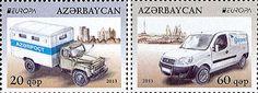 europa stamps: Azerbaijan 2013 PostEuropa's 20th anniversary - 1993-2013