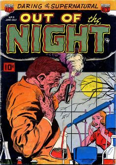Comic Book Cover For Out of the Night #3