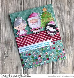 Milk & Cookies, Simon Says Stamp December Card Kit - {creative chick} | shurkus.com