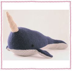this one is Lou the Narwhale, I bought Nigel for CC check it out all handmade and Adorable for the kiddos!