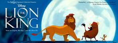 The Walt Disney Signature Collection Presents The Lion King - Now on Digital, Blu-Ray(TM) and Ultra HD Lion King Game, Lion King Play, Nala Lion King, Lion King Musical, Lion King Broadway, Lion King Movie, Disney Lion King, Tom And Jerry Movies, Lion King Original