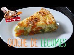 QUICHE DE LEGUMES | Cozinha da Nina #11 - YouTube
