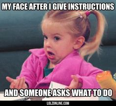 After I Take The Time To Give Instructions#funny #lol #lolzonline